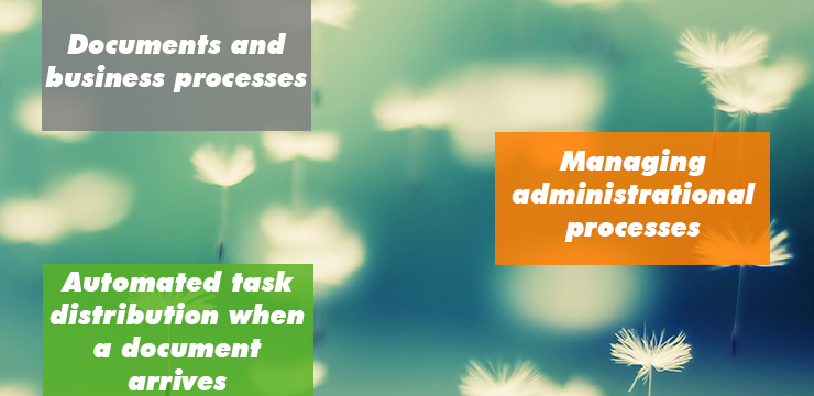 Linking documents and business processes - xFLOWer