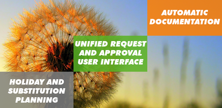 Holiday requests and approvals management with xFLOWer