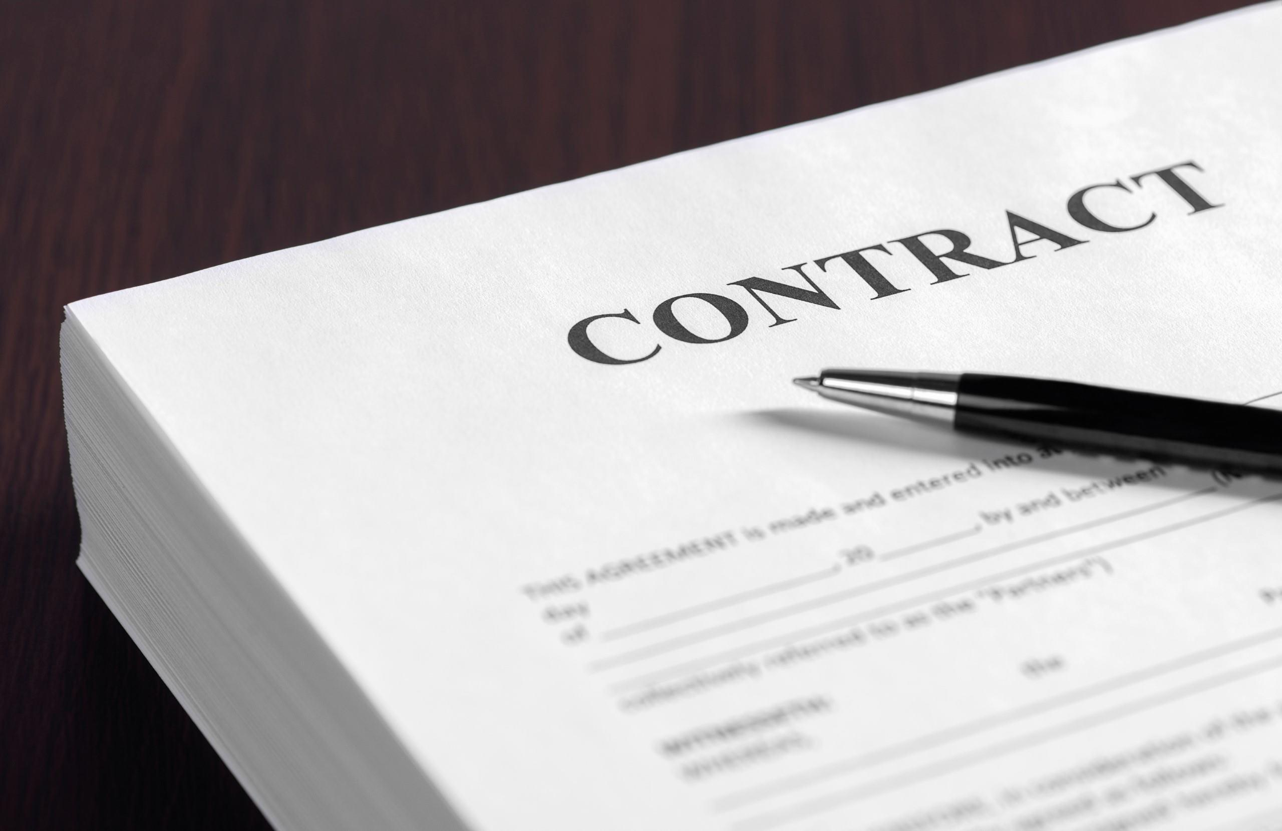 Keep your business organized 1. – Manage your contracts